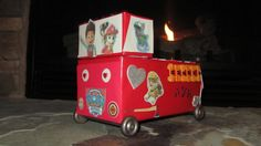 "What a great idea: ""Paw Patrol fire truck valentine box. My daughter and I made this together, she loves Paw Patrol!"""