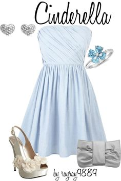 Cinderella, created by raven-ferrel on Polyvore