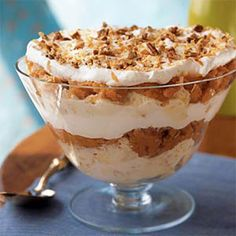 11 Healthy Trifle Recipes  These easy dessert recipes combine cake, fruit, and a little bit of cream to make a treat that's delicious and diet-friendly. Ease your sweet tooth with 11 low-cal indulgences.