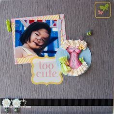 Stephanie Lee shares this fantastic scrapbook page for our blog this week.