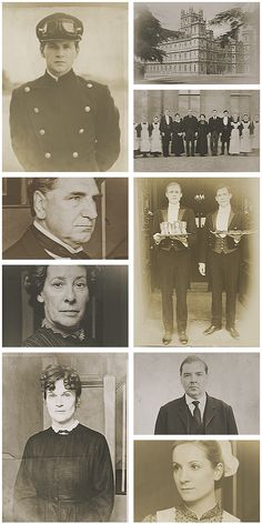Downton Abbey Vintage Pictures