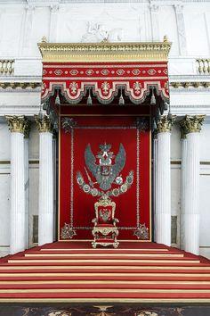 The Romanov Throne - St Petersburg, Russia