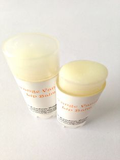#Organic Orange Vanilla Lip Balm #earthmade #beauty