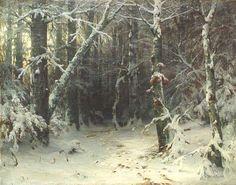 Estudos de Paisagem por Ivan Shishkin | O Mundo da Arte