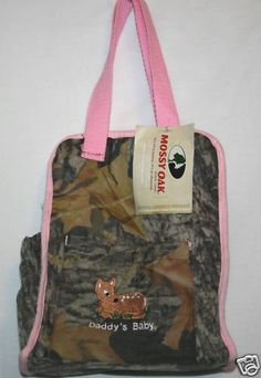 Mossy Oak Camo Daddy's Baby Diaper Bag