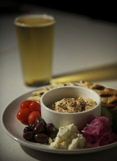 Brewtopia. hummus plate