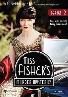 Miss Fisher's Murder Mysteries: Series 2  http://encore.greenvillelibrary.org/iii/encore/record/C__Rb1372440