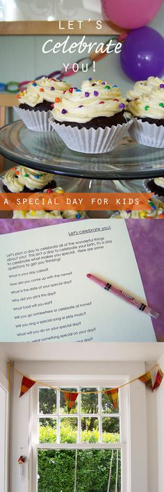 Lovely ideas for honoring and appreciating the children in our lives…