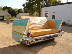 Classic Car Furniture | Classic Couches - Car Couches made from Real Cars