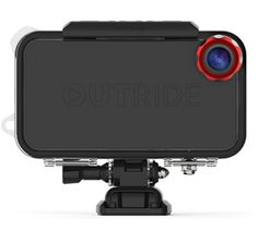 OutRide action sports camera case for iPhone 4S/4 コレはかっちょ良かね!