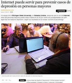 La depresión en personas mayores puede prevenirse con el uso de Internet  http://www.dependenciasocialmedia.com/2014/04/la-depresion-en-personas-mayores-puede-prevenirse-con-el-uso-de-internet/ depresión, de internet, en persona, persona mayor, social media, personas mayores, dependencia social, con el, el uso