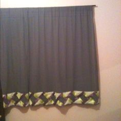 I made these curtains for my daughters room.