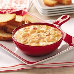 Rotel Cheese Dips from Taste of Home, including Seafood Cheese Dip