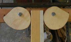 self-tensioning wood clamps diy