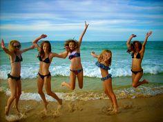mermaids in the sun, summer, bikini girls sand bikinis swimsuits #KyFun moved from Summer - Beach, Bikinis, Ocean, Fun, Drinks, Sun board http://www.pinterest.com/kythoni/summer-beach-bikinis-ocean-fun-drinks-sun/