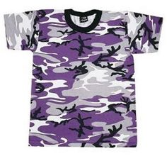 Purple Camo T-Shirt