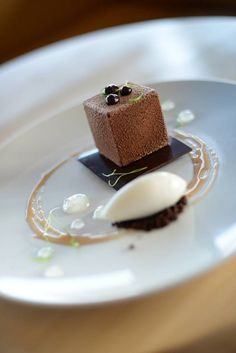 Chocolate Citrus box AKA Chocolate Minecraft from Pastry Chef Pete Schmutte in Indianapolis