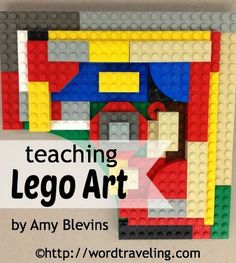 Teaching Lego Art {FREE Printable Lesson Plan}