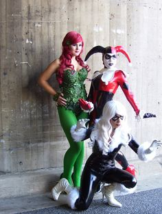 Comic con costumes ideas. I would love to go sometime!