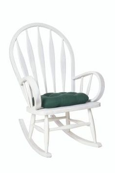 How to Make a Rocking Chair Cushion w/Ties
