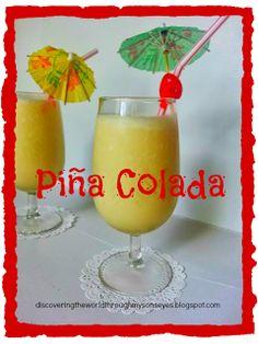 Kid Friendly Piña Colada from Puerto Rico