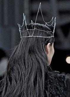 funky crown.