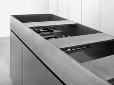Laminate kitchen cabinet HT 505 HT Collection by HENRYTIMI   design Henry Timi