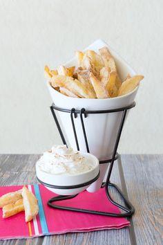 Apple Fries...these copycat apple fries taste just like the original at Legoland!