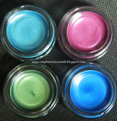 NEW Maybelline Jewel Toned Color Tattoo Shades for Fall 2012 Swatches & Review!