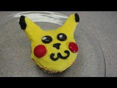 Decorating Cupcakes #58: Pokemon Pikachu