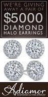 #RePin and Get in to #Win $5,000 #Diamond Halo #Earrings! #jewelry #contest VALID UNTIL SEPT 4