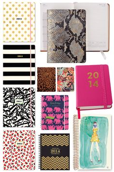 Turn your weekly schedules into stylish accessories with this fun selection of planners! #backtoschool #style #organization