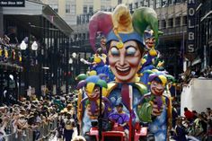 Attend Mardi Gras in New Orleans