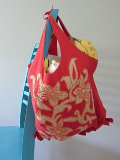 No-Sew 10 Minute T-Shirt Tote