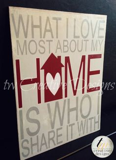 Custom Home Decor and Family Quotes by twcreativedesigns on Etsy, $35.00