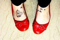 <3 foot tattoos