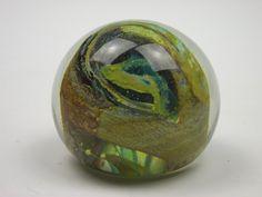 Isle of Wight Studio Glass swirly paperweight. £20.00, via Etsy.