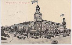The Arlington Hotel, Hot Springs National Park, Arkansas, postmarked 1909