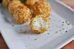 Potato Parmesan Puffs.