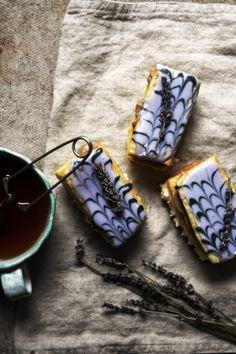 Earl Grey und Vanilleschote mille feuille mit Lavendel aka London Fog