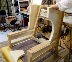 Unupholstered frame (before modern redesign)