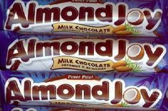 recipe for Almond Joy Candy Bars