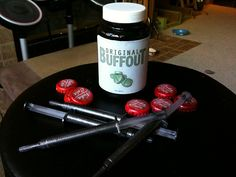Buffout, med-x, nuka cola caps by chrisfurniss, via Flickr