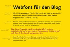 Webfonts im Layout t