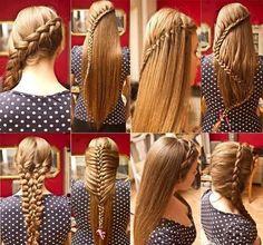 6 different braids.