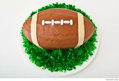 Love this football cake