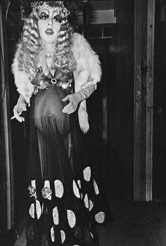 drag queen, NYC, 1971