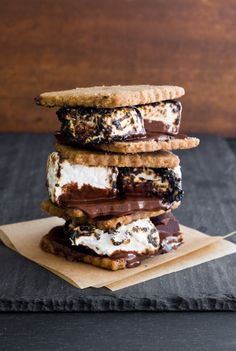 s'mores on s'mores