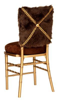 Petrovski Chocolate Chivari Chair Cap