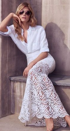 Lovely White Lace